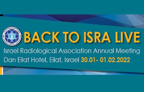 Back to ISRA live | 30.01 - 01.02.2022 | Dan Eilat Hotel, Eilat