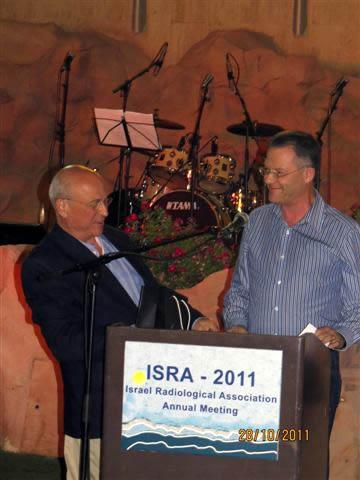 פרידה מפרופ' גרייף - הכנס השנתי 2011