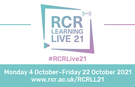 RCR Learning LIVE 21   4-22, October 2021